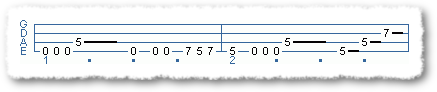 Intro Riff For Song 2