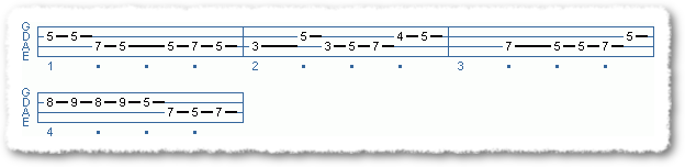 Rock Lines With Major Pentatonic