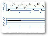 Scary Blues Scale Arpeggio